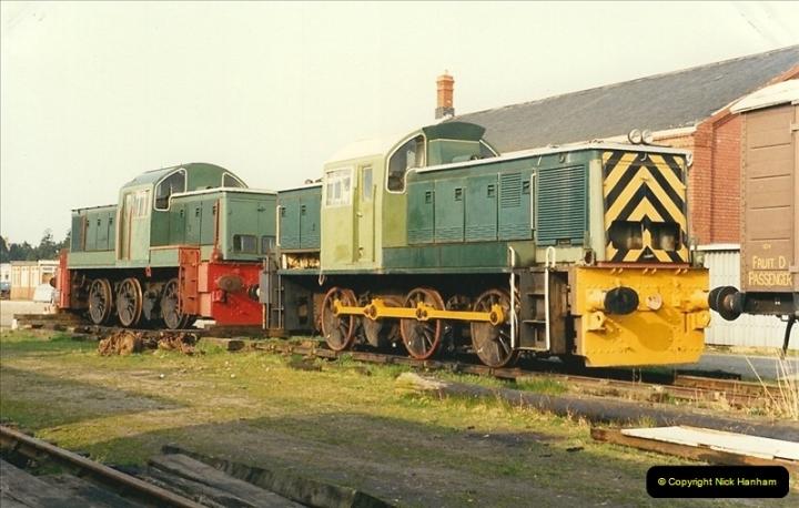 1989-03-31 The Gloucestershire & Warwickshire Railway.  (4)010