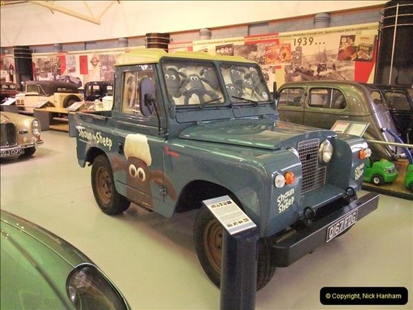 2012-10-28 Trip to Gaydon Heritage Motor Centre, Warwickshire.   (202)202