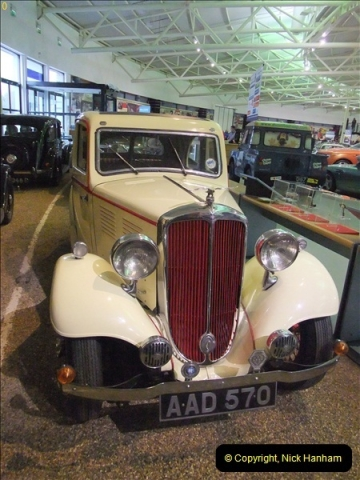 2012-10-28 Trip to Gaydon Heritage Motor Centre, Warwickshire.   (215)215