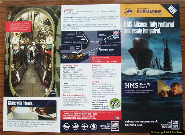 2014-07-01 HM Submarine Alliance, Gosport, Hampshire.  (2)002