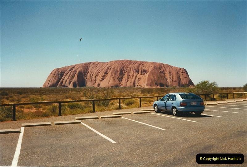 1996(T). Ayres Rock (Uluru) Australia  (176)177