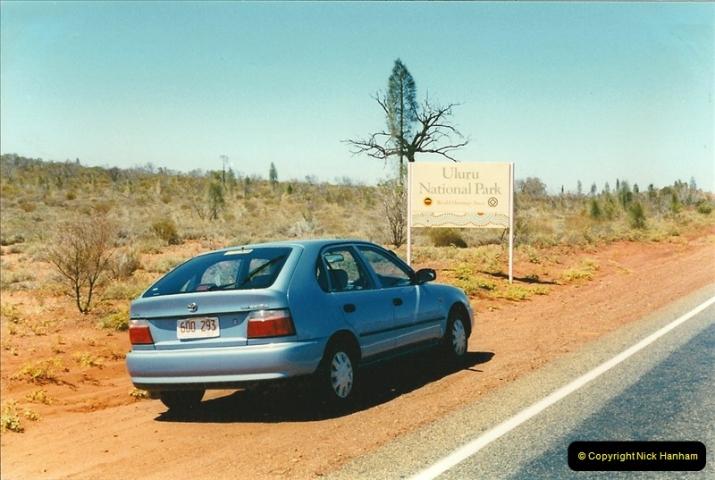1996(T). Ayres Rock (Uluru) Australia  (175)176