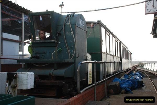 2012-01-27 Hythe, Hampshire. Pier Railway.  (45)45