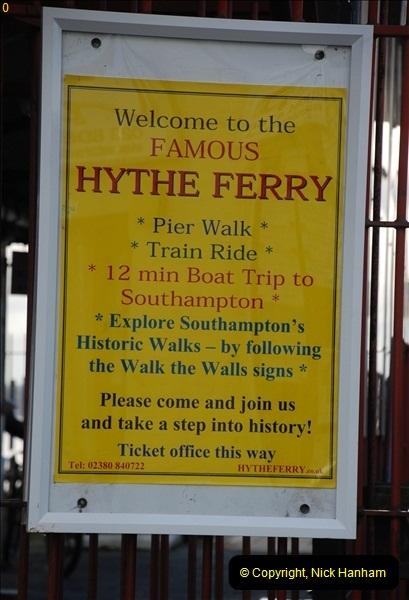 2012-01-27 Hythe, Hampshire. Pier Railway.  (5)05