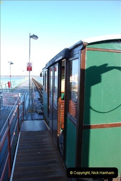 2012-01-27 Hythe, Hampshire. Pier Railway.  (9)09