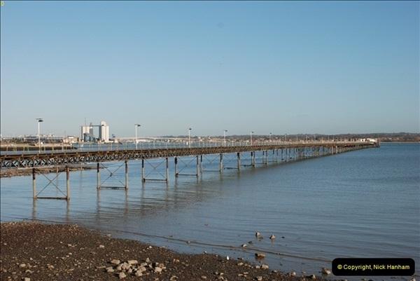 Hythe Pier Railway 27 January 2012