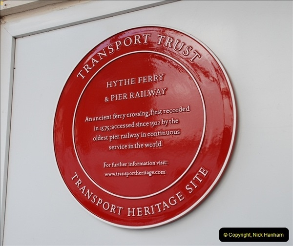 2012-01-27 Hythe, Hampshire. Pier Railway.  (2)02