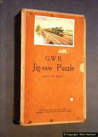 2014-02-15. A proper jigsaw puzzle issued by the GWR.  (1)213