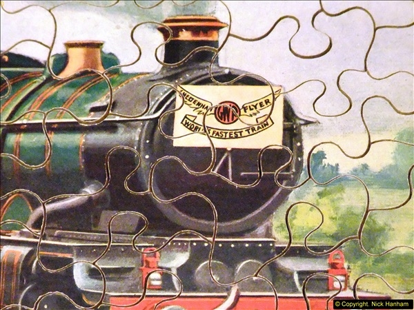 2014-02-15. A proper jigsaw puzzle issued by the GWR.  (15)227