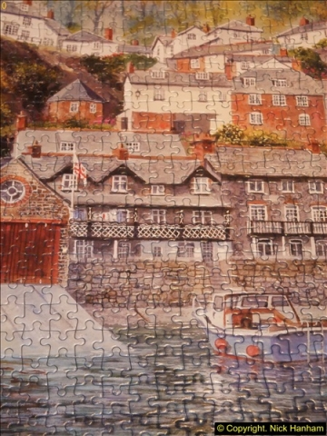 2015-08-04 The two X 1000 piece puzzles of Clovelly completed (14)153