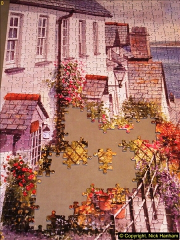 2015-08-04 The two X 1000 piece puzzles of Clovelly completed (3)142