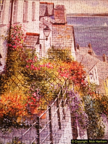 2015-08-04 The two X 1000 piece puzzles of Clovelly completed (7)146