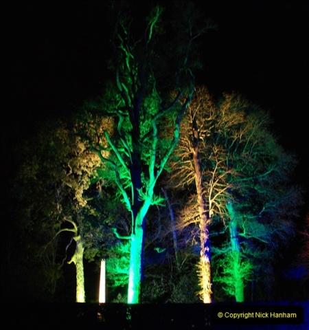 2018-12-12 Kingston Lacy (NT) Christmas lights.  (48)48