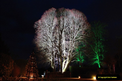 2018-12-12 Kingston Lacy (NT) Christmas lights.  (8)08