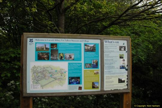 Lacock Wiltshire 15 May 2015