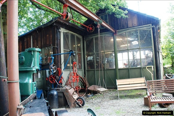 2016-08-06 At the Fred Dibnah Heritage Centre, Bolton, Lancashire.  (130)483