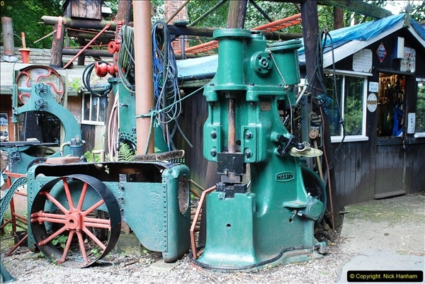 2016-08-06 At the Fred Dibnah Heritage Centre, Bolton, Lancashire.  (76)429