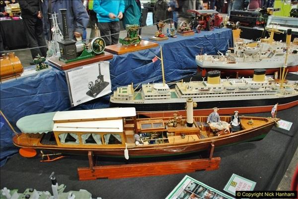 2018-01-21 London Model Engineering Exhibition, Alexandra Palace, London.  (130)130