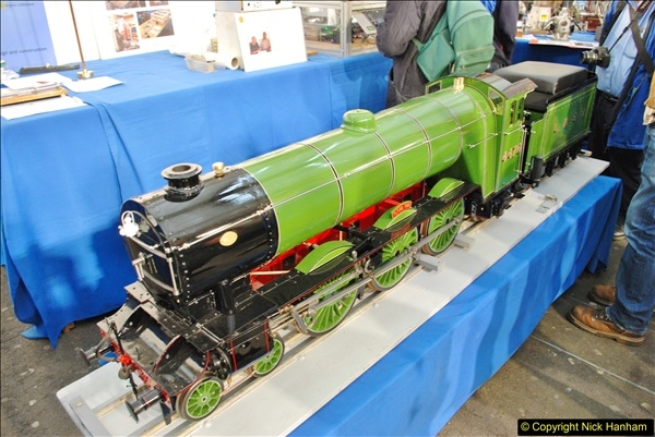2018-01-21 London Model Engineering Exhibition, Alexandra Palace, London.  (146)146