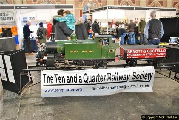 2018-01-21 London Model Engineering Exhibition, Alexandra Palace, London.  (148)148