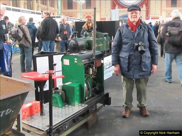 2018-01-21 London Model Engineering Exhibition, Alexandra Palace, London.  (152)152