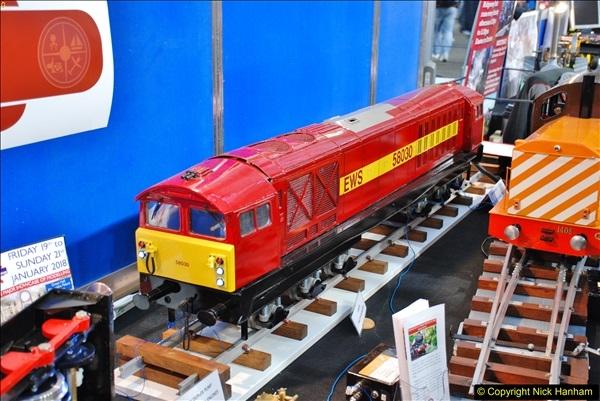 2018-01-21 London Model Engineering Exhibition, Alexandra Palace, London.  (158)158