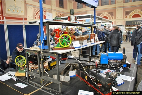 2018-01-21 London Model Engineering Exhibition, Alexandra Palace, London.  (176)176