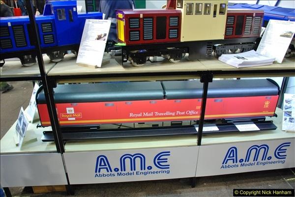 2018-01-21 London Model Engineering Exhibition, Alexandra Palace, London.  (182)182