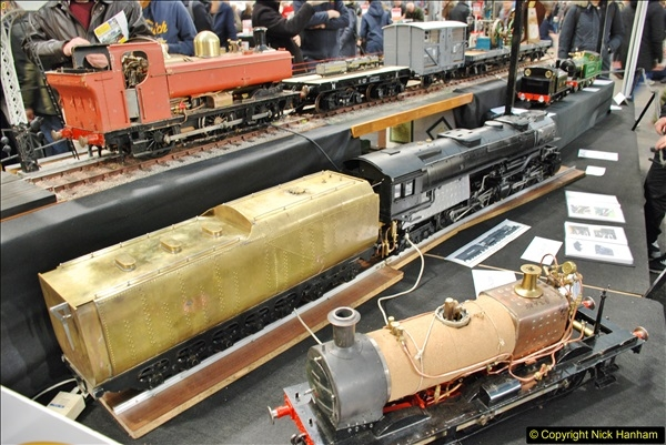 2018-01-21 London Model Engineering Exhibition, Alexandra Palace, London.  (183)183