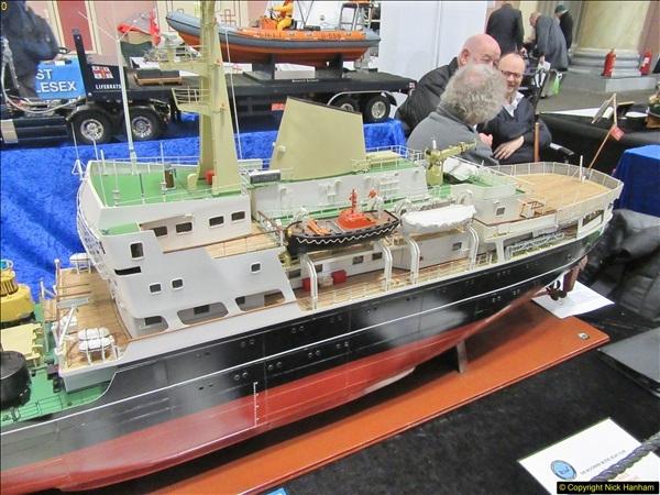 2018-01-21 London Model Engineering Exhibition, Alexandra Palace, London.  (221)221