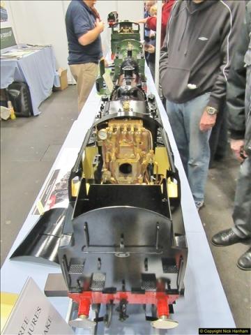 2018-01-21 London Model Engineering Exhibition, Alexandra Palace, London.  (255)255