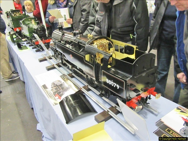2018-01-21 London Model Engineering Exhibition, Alexandra Palace, London.  (256)256