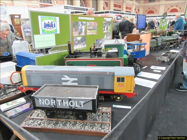 2018-01-21 London Model Engineering Exhibition, Alexandra Palace, London.  (261)261