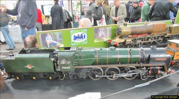 2018-01-21 London Model Engineering Exhibition, Alexandra Palace, London.  (262)262