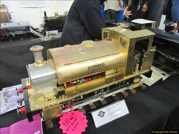 2018-01-21 London Model Engineering Exhibition, Alexandra Palace, London.  (268)268