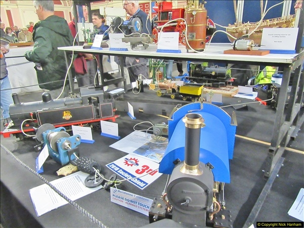 2018-01-21 London Model Engineering Exhibition, Alexandra Palace, London.  (271)271