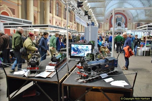 2018-01-21 London Model Engineering Exhibition, Alexandra Palace, London.  (299)299