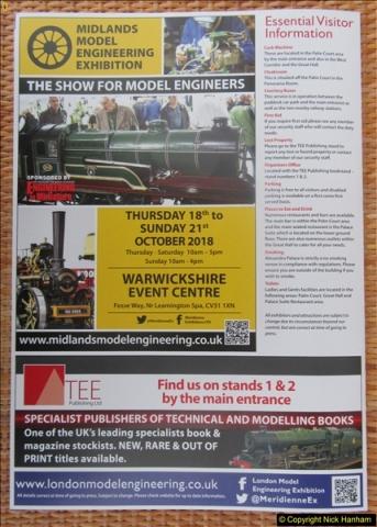 2018-01-21 London Model Engineering Exhibition, Alexandra Palace, London.  (31)031