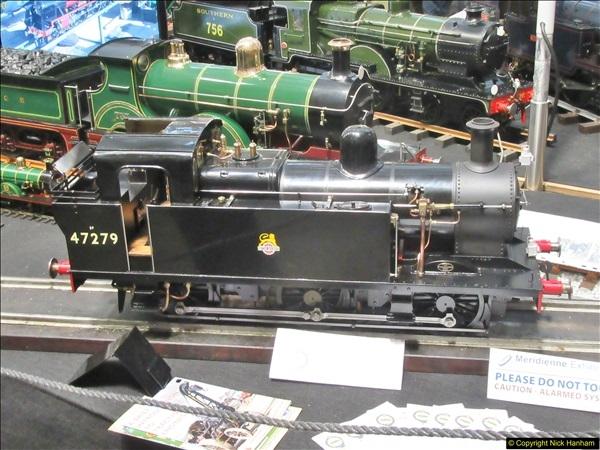 2018-01-21 London Model Engineering Exhibition, Alexandra Palace, London.  (40)040