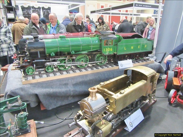 2018-01-21 London Model Engineering Exhibition, Alexandra Palace, London.  (44)044