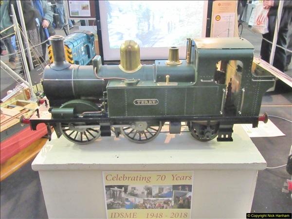 2018-01-21 London Model Engineering Exhibition, Alexandra Palace, London.  (52)052