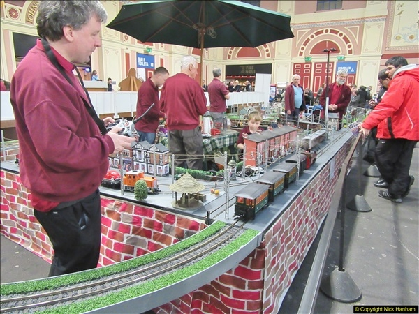 2018-01-21 London Model Engineering Exhibition, Alexandra Palace, London.  (66)066
