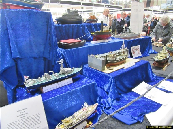 2018-01-21 London Model Engineering Exhibition, Alexandra Palace, London.  (76)076