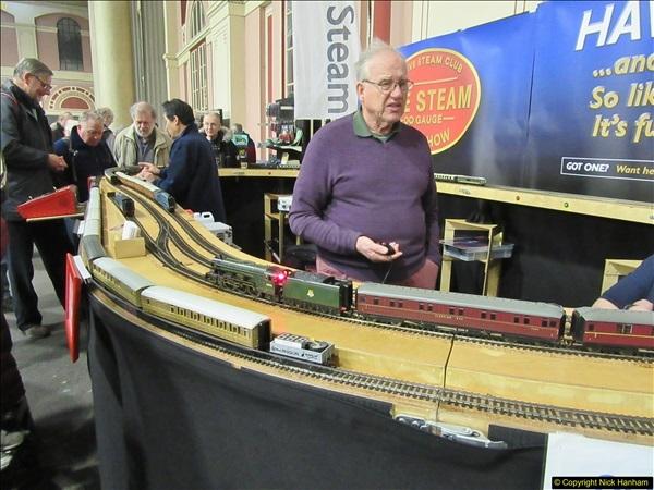 2018-01-21 London Model Engineering Exhibition, Alexandra Palace, London.  (89)089