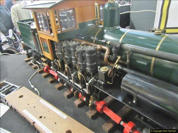 2018-01-21 London Model Engineering Exhibition, Alexandra Palace, London.  (94)094