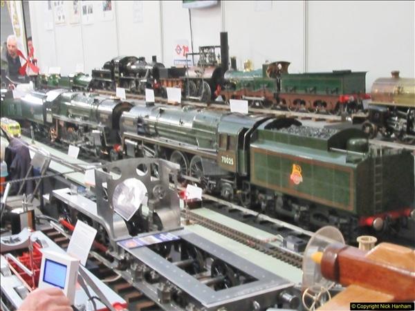 2018-01-21 London Model Engineering Exhibition, Alexandra Palace, London.  (95)095