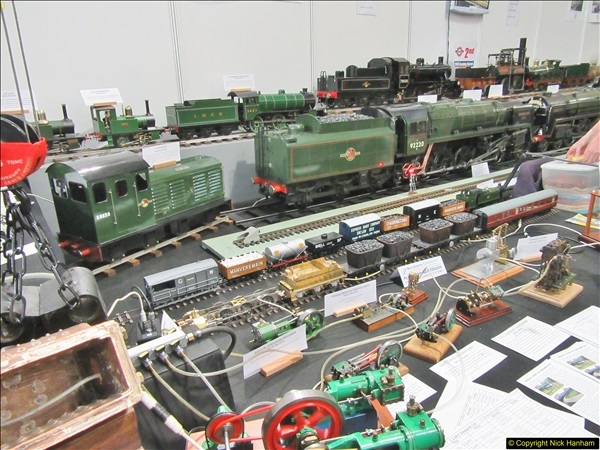 2018-01-21 London Model Engineering Exhibition, Alexandra Palace, London.  (97)097