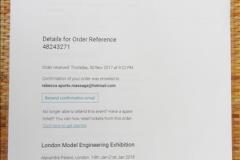 2018-01-21 London Model Engineering Exhibition, Alexandra Palace, London.  (34)034