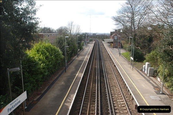 2000 to 2009 Local Rail. Bournemouth to Poole. Dorset (249)249