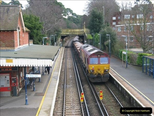 2000 to 2009 Local Rail. Bournemouth to Poole. Dorset (265)265